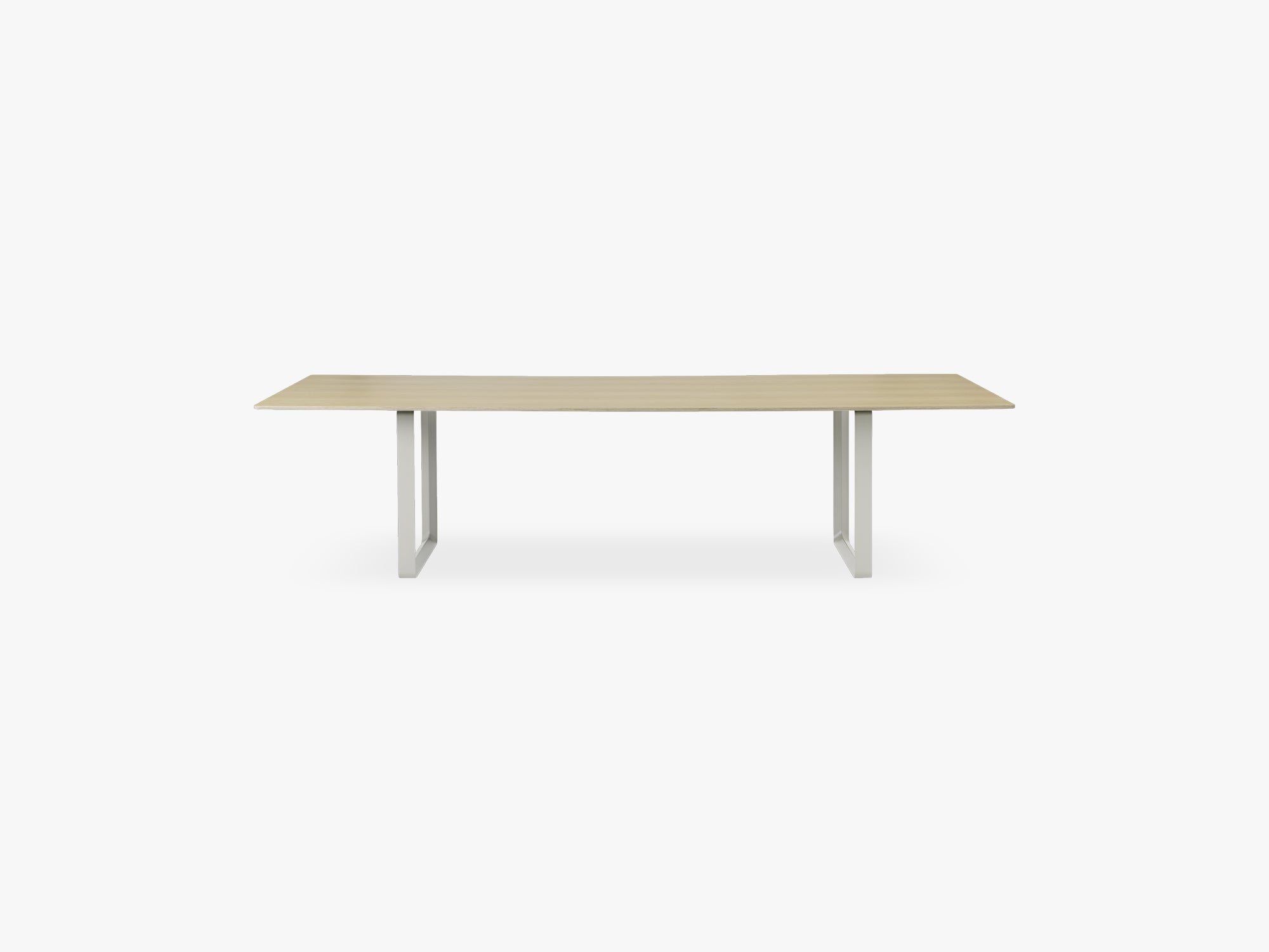 70/70 Table - 295 Cm, Oak/Grey fra Muuto