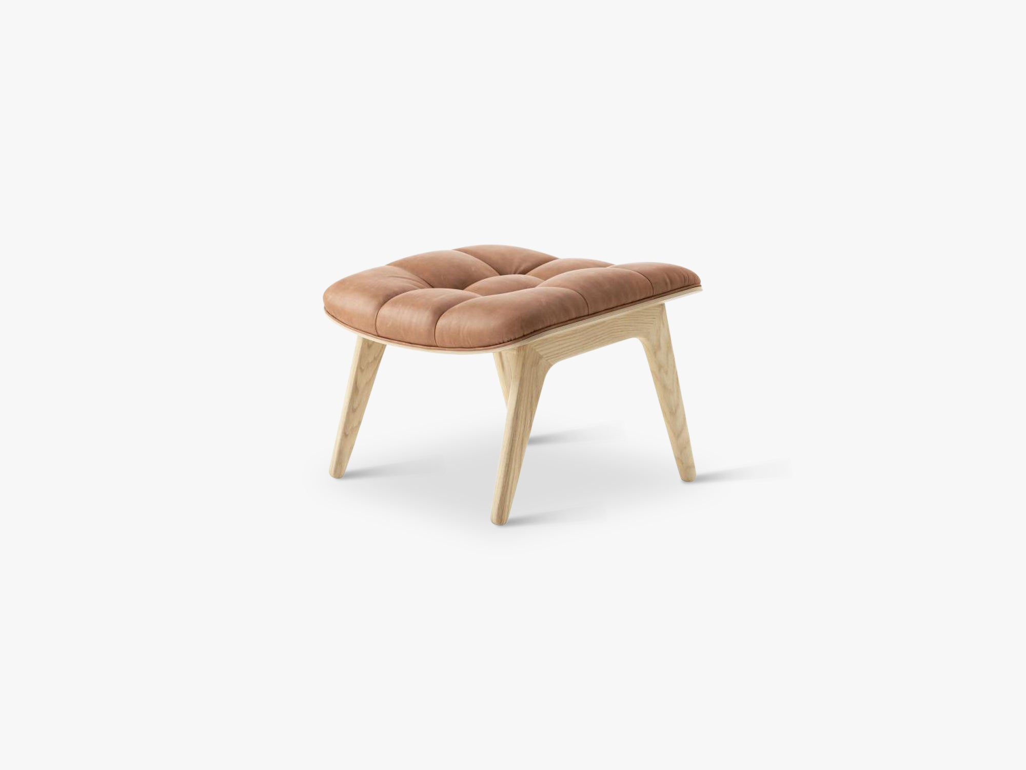 Mammoth Ottoman, Natural/Camel fra NORR11