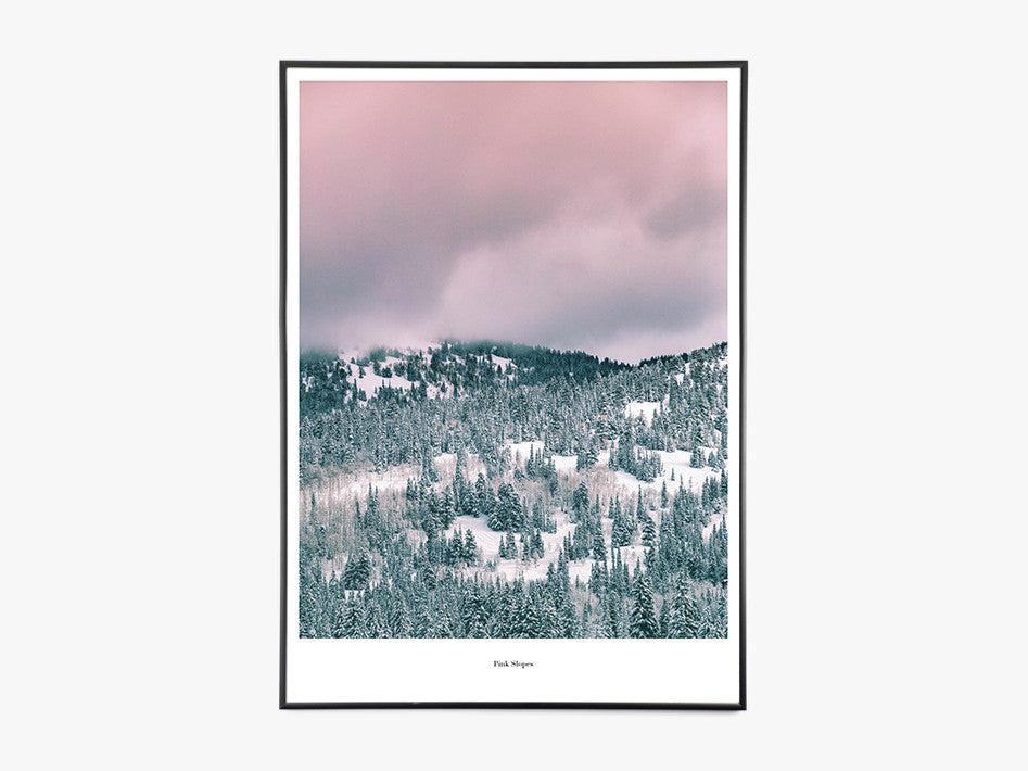Pink Slopes - Beautiful World Plakat fra Beautiful World