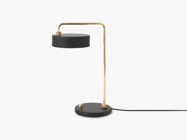 Petite Machine Table Lamp, Deep Black fra Made By Hand