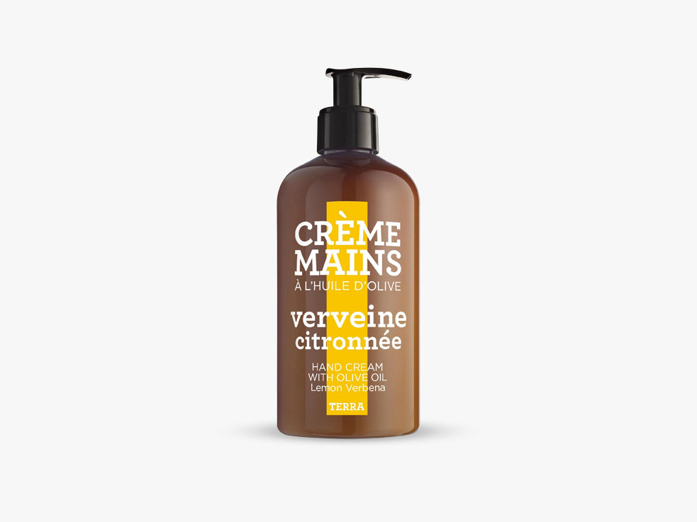 TERRA Hand Cream 300ml, Lemon Verbena fra Savon De Marseille