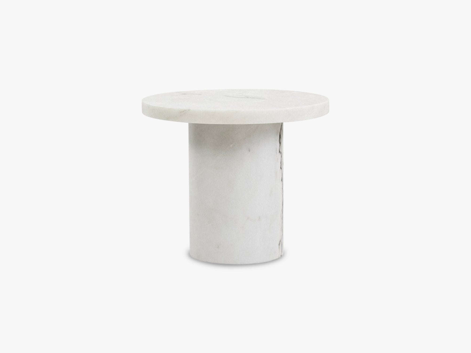 Sintra Table Marble Edition Small, White fra FRAMA