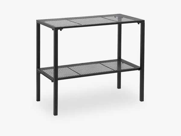 WIRE table, slim, black fra Nordal