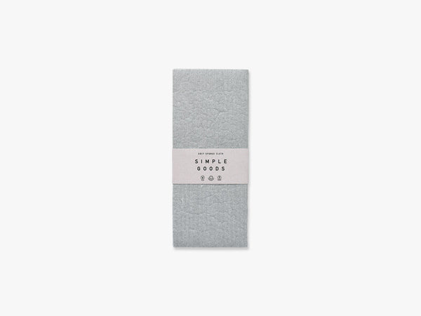 Sponge Cloth, Grey fra Simple Goods