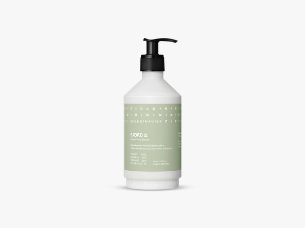 FJORD Hand & Body Lotion 450ml fra Skandinavisk