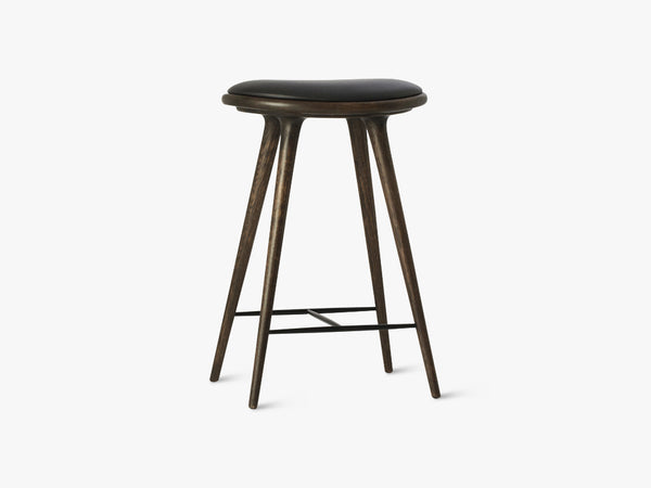 High Stool H69, Sirka Grey Stained Oak fra Mater