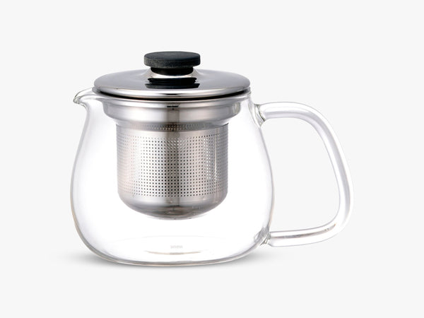UNITEA teapot set, small stainless steel fra KINTO