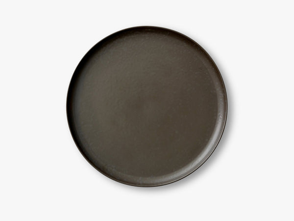 New Norm Dinner Plate, Ø27,5 cm, Dark Glazed fra Menu