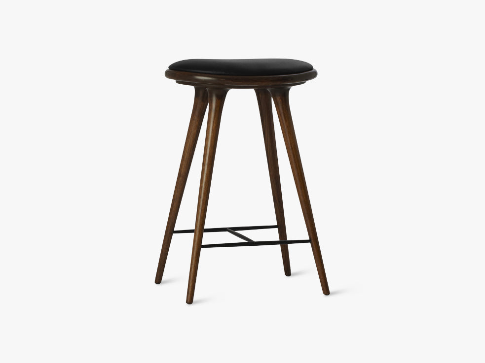 High Stool H69, Dark Stained Oak fra Mater