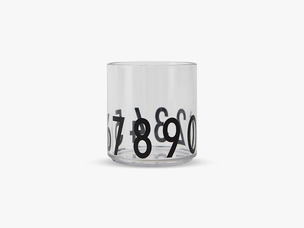 Kids personal drinking glass, 123 fra Design Letters