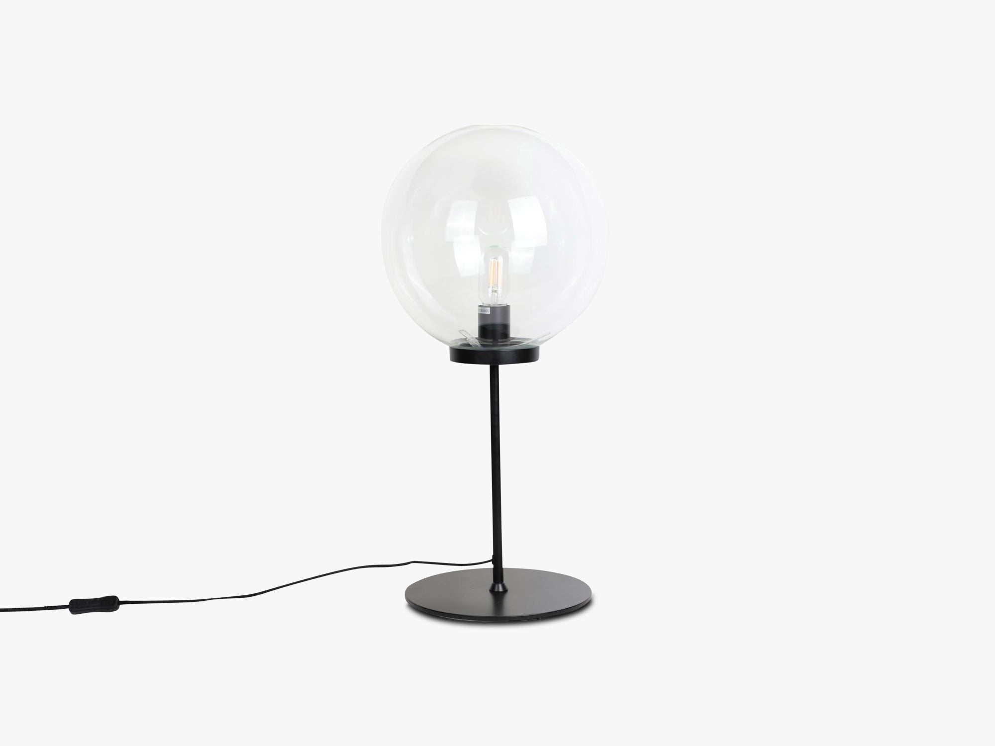 Ball Table Lamp - Large, Clear fra Specktrum