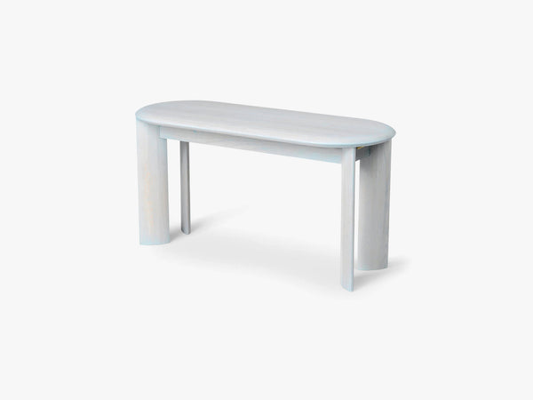 Bevel Bench - Ice Blue fra Ferm Living