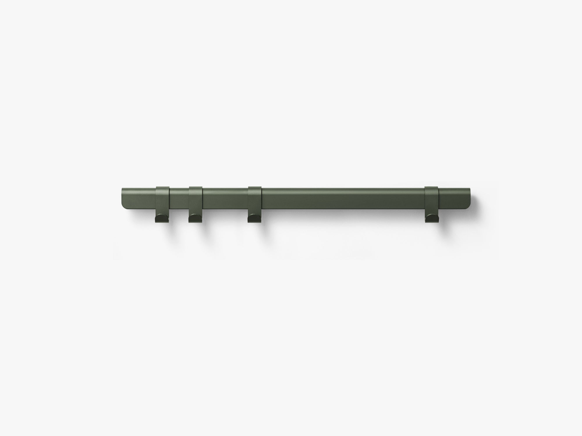 Hug Coat Rack 90cm, Dark Green/4 Hooks fra MILLION