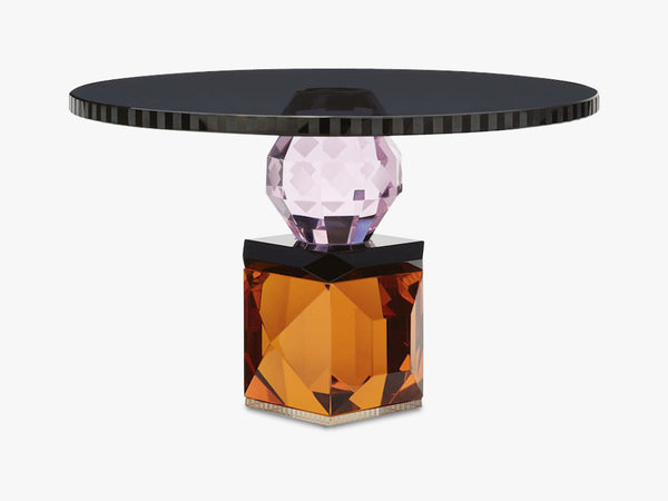 Savannah Tray, Black/Rose/Clear/Amber fra Reflections Copenhagen