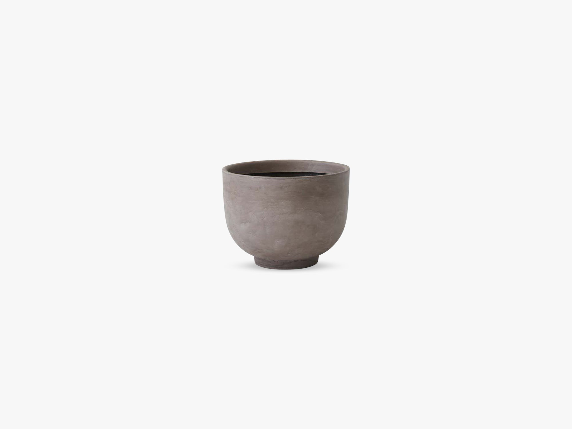 Collect Planter SC43 Small, Silver Grey fra &tradition