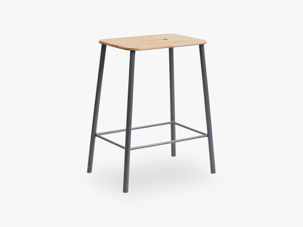 Adam Stool H50, Grey fra FRAMA