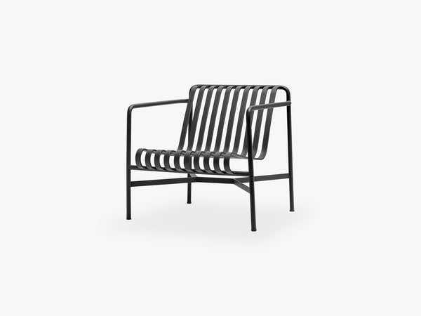 Palissade Lounge Chair - Low, Anthracite fra HAY