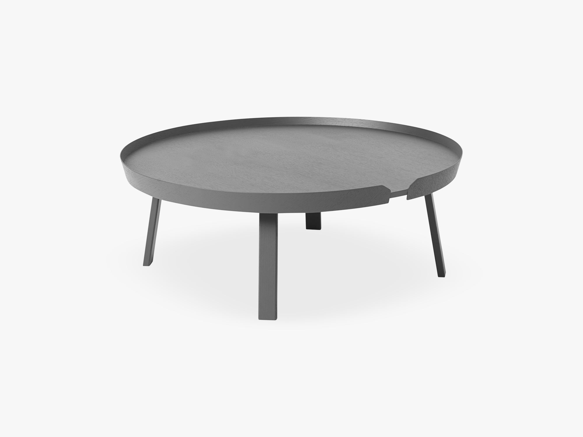 Around Coffee Table - Xl - Extra Large, Dark Grey fra Muuto