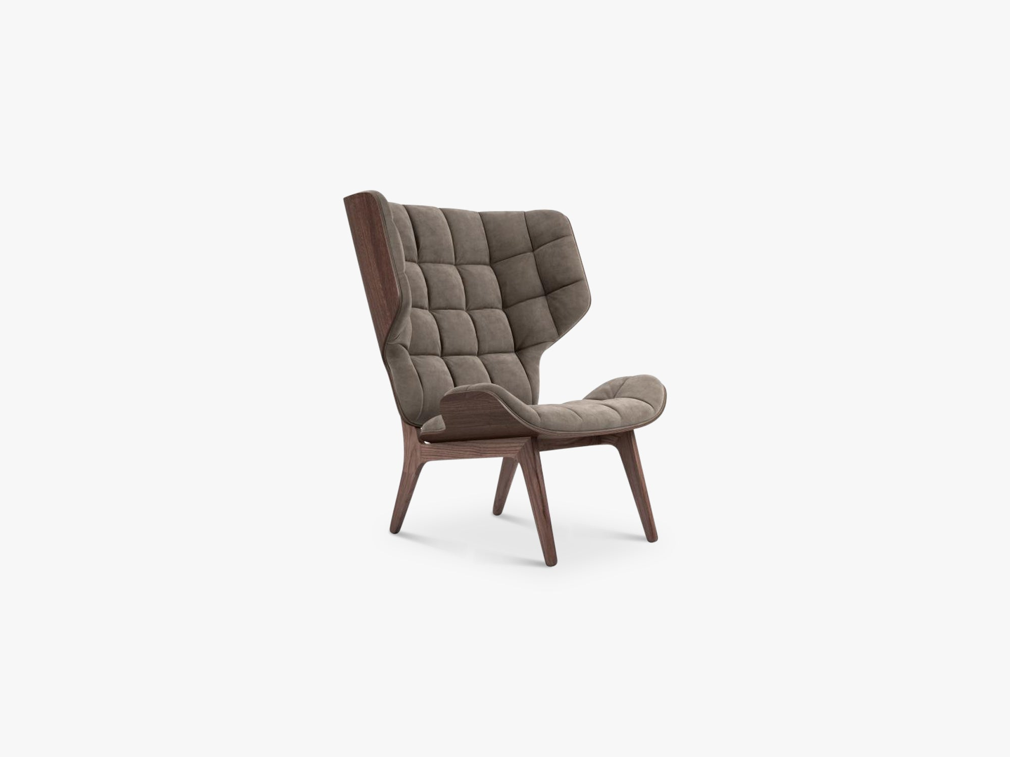 Mammoth Chair, Dark Stained/Taupe fra NORR11