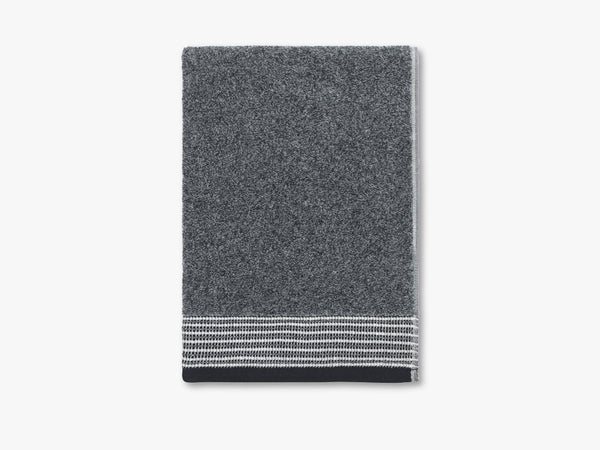 Field towel, melange grey fra Elvang