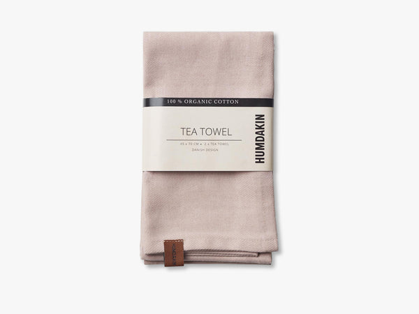 Organic tea Towels, Latte fra HUMDAKIN