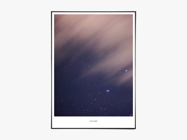 Starry Night - Beautiful World Plakat fra Beautiful World