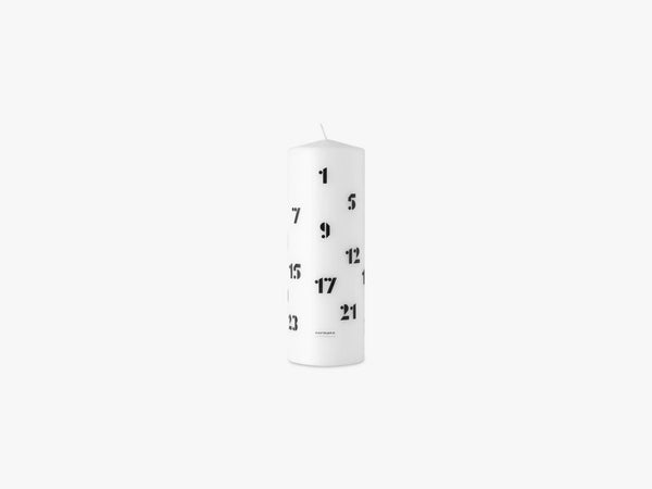 Christmas Candle 2019, Sort fra Normann Copenhagen