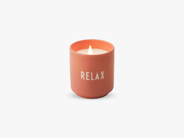 Scented Candle, Nude Relax fra Design Letters