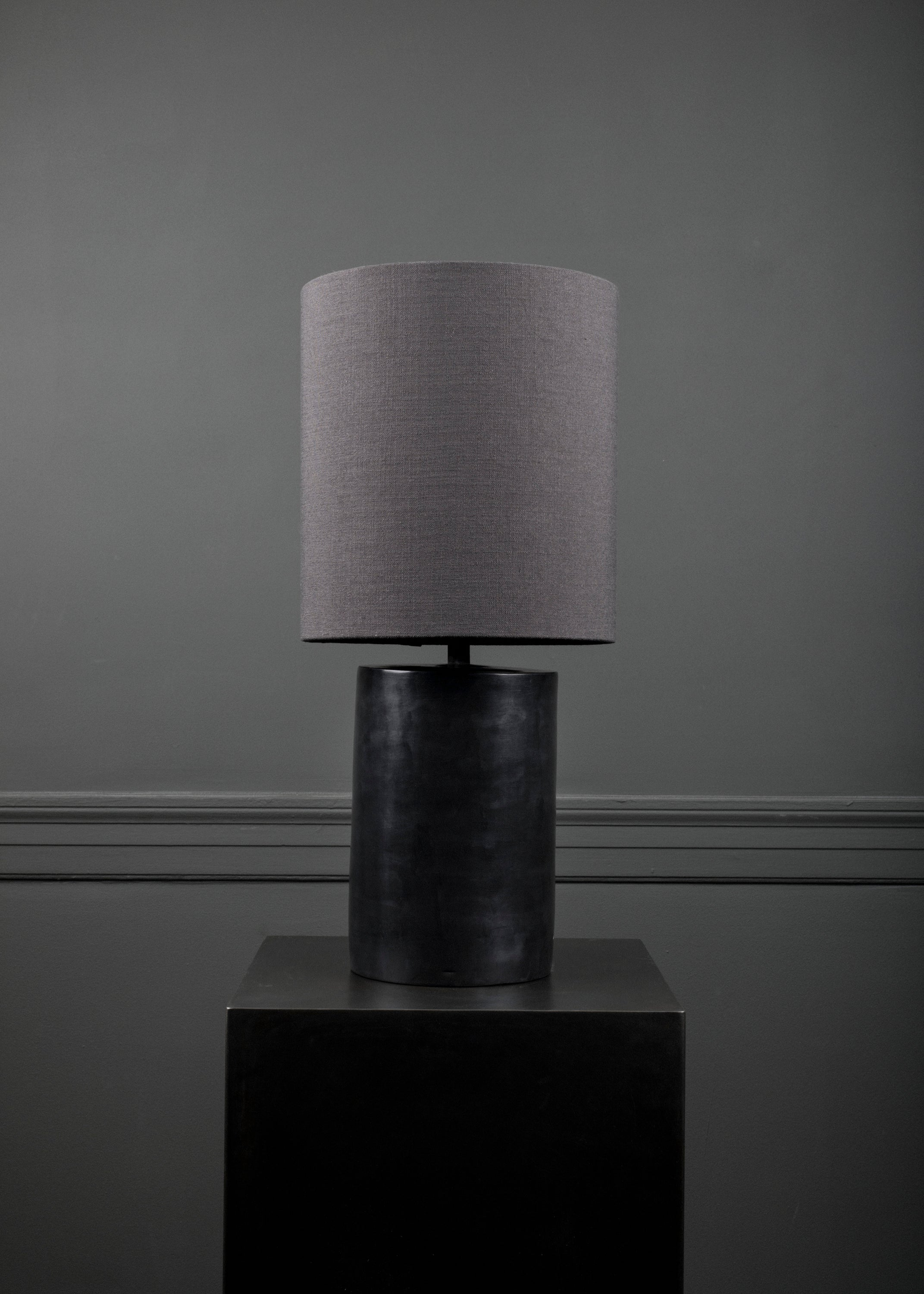 Table lamp round, black fra NOCTURNALS