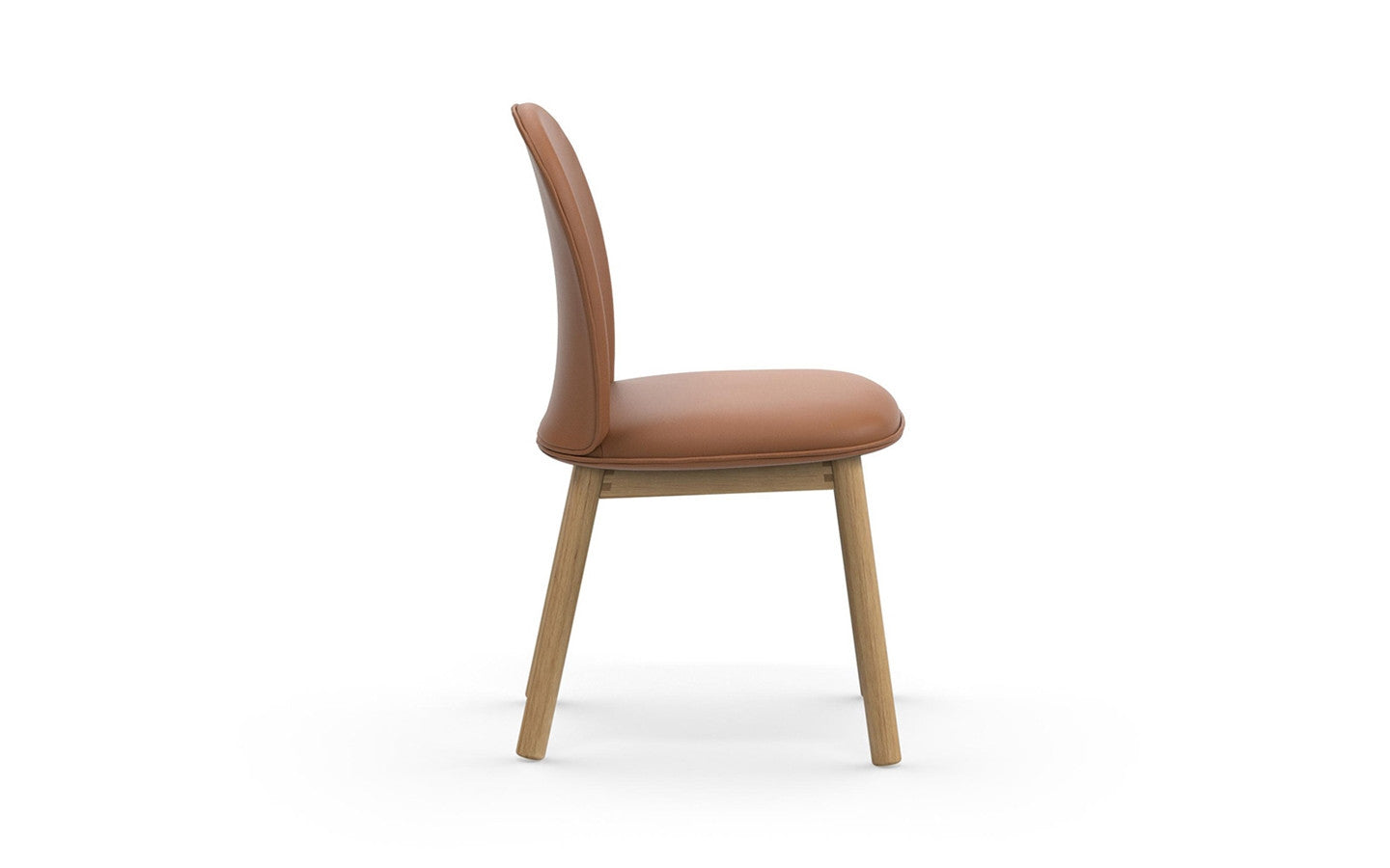 Ace Chair Tango Leather - Brandy fra Normann Copenhagen