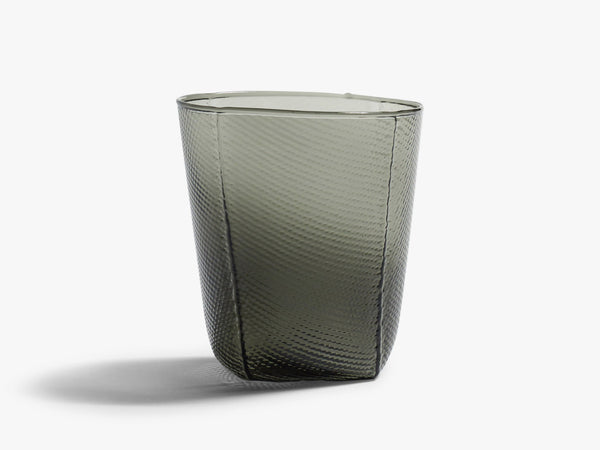 Tela, Medium Tumbler Glas, Smoke fra HAY