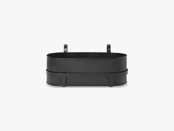 Bau Balcony Box, Black fra Ferm Living