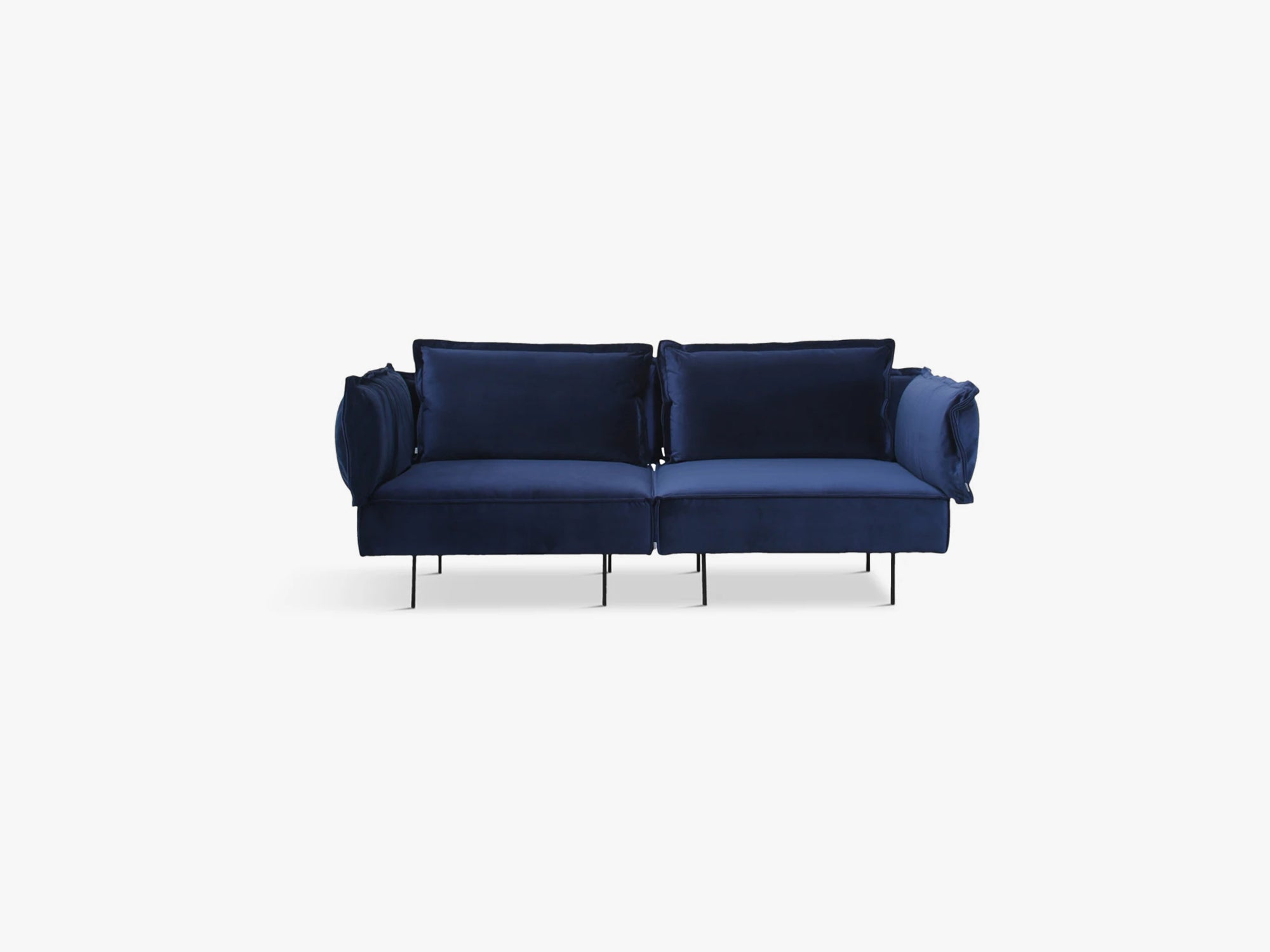 Modular Sofa, 2 Seater, Royal Blue fra Handvärk