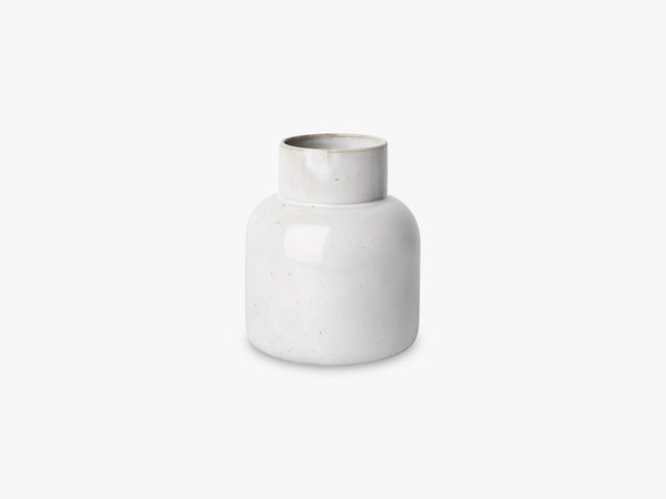 Earthenware Jar Vase, Pale grey (fully glazed) fra Fritz Hansen