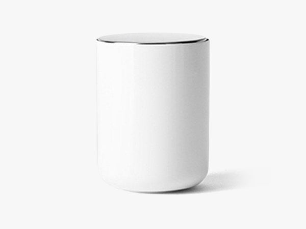 Bath Container w. mirror, white fra Menu