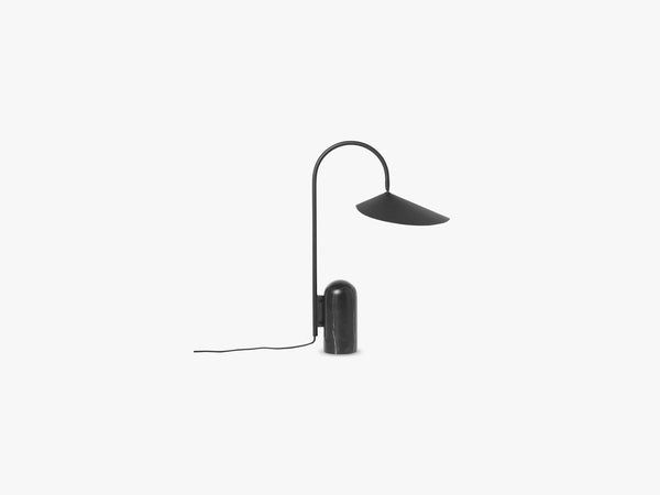 Arum Table Lamp, Black fra Ferm Living