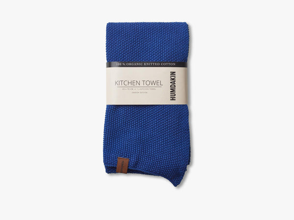 Knitted Kitchen Tea Towels, Blue Cloud fra HUMDAKIN