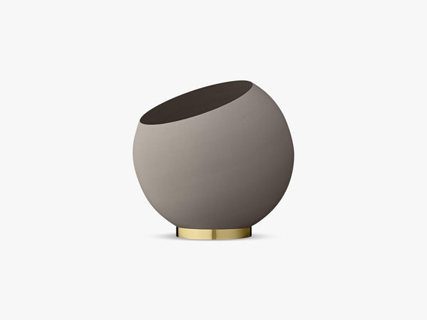 Globe flower pot x-large, Taupe fra AYTM