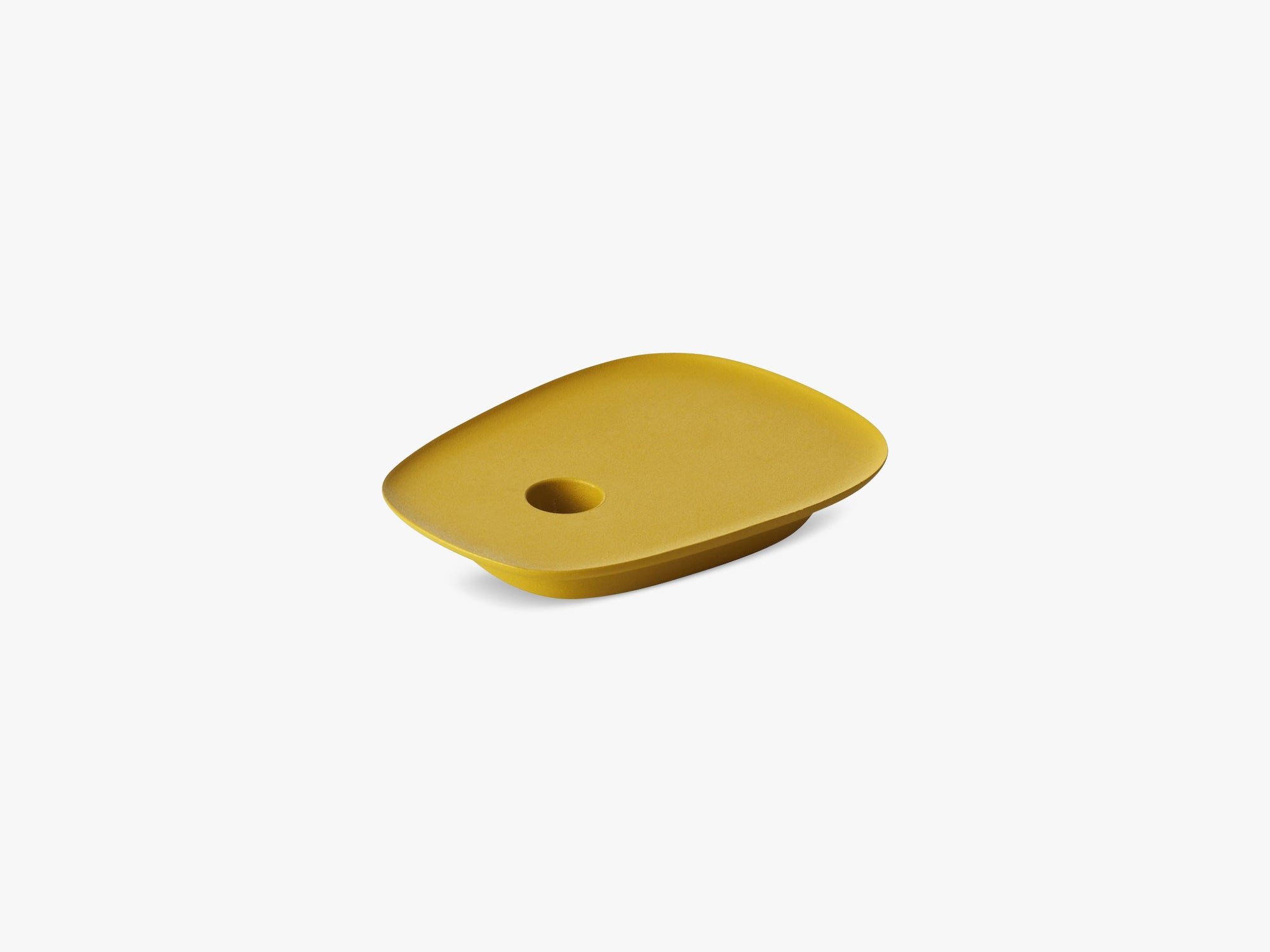 Float Candlestick, Yellow fra Muuto