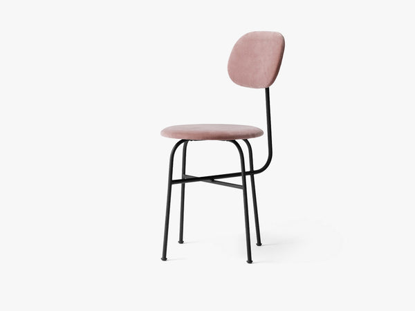 Afteroom Dining Chair Plus, Black/Dusty Rose fra Menu
