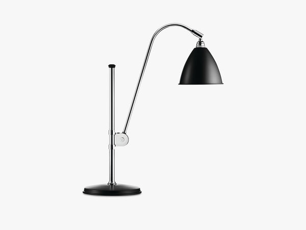 Bestlite BL1 Table Lamp - Ø16 - Crome Base, Black fra GUBI