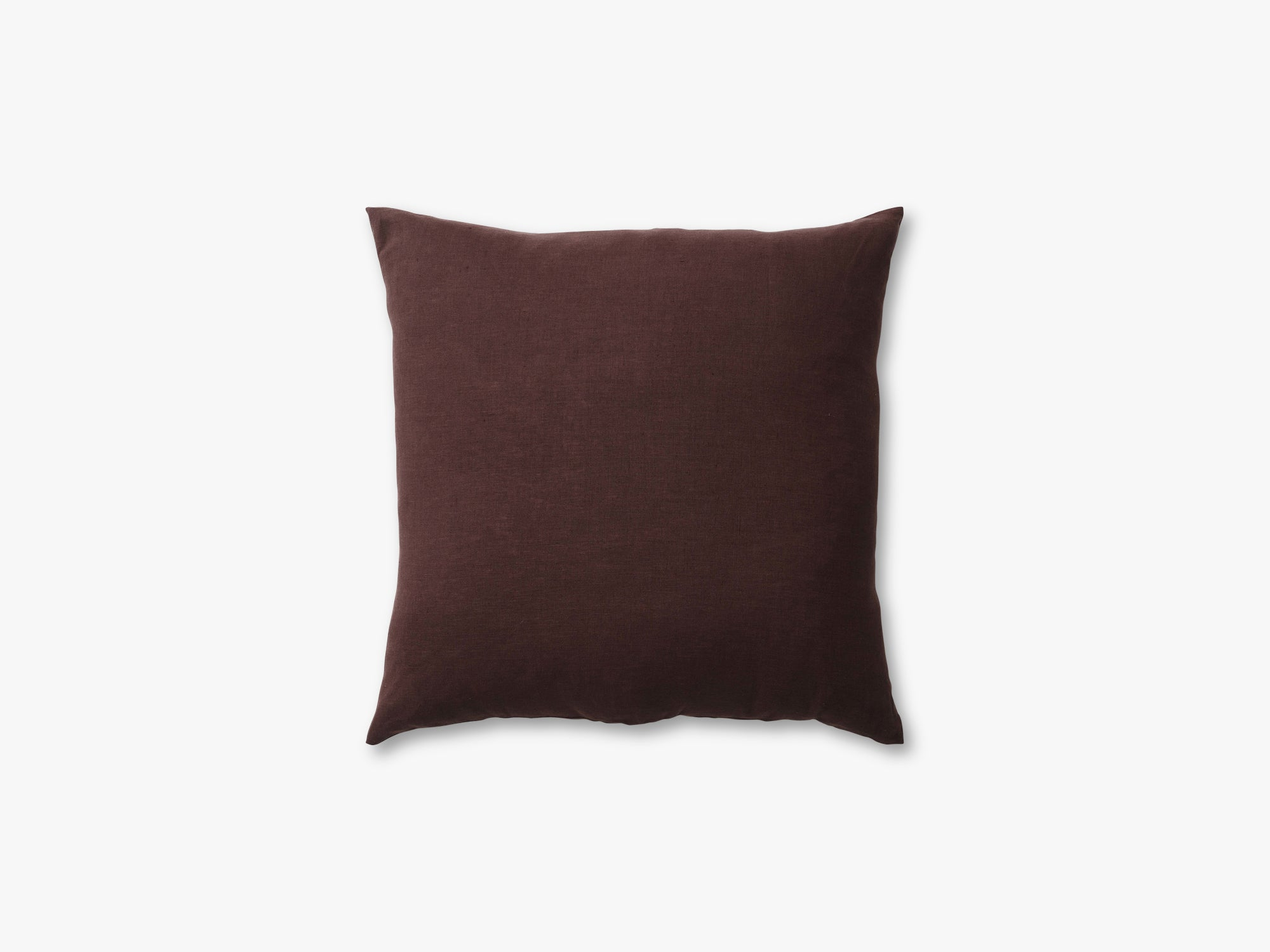 Collect Cushion SC29 - 65x65, Burgundy Linen fra &tradition