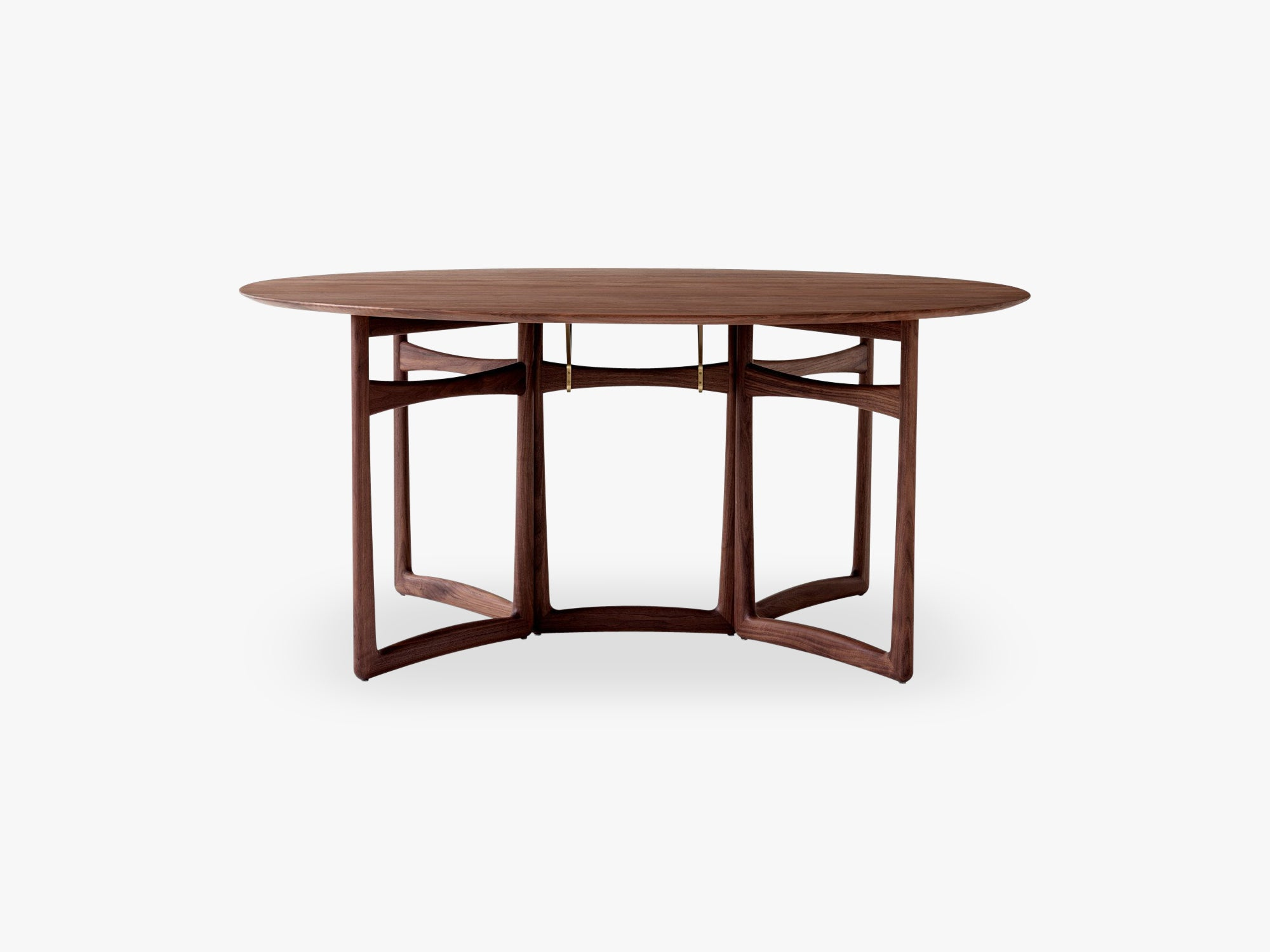 Drop Leaf HM6, Walnut Oiled, Dining table fra &tradition