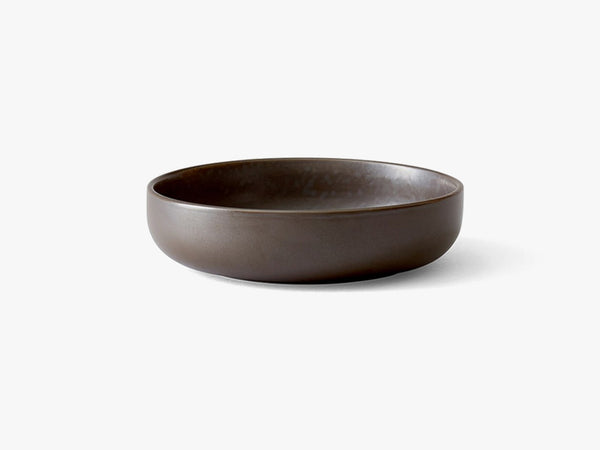 New Norm Low Bowl, Ø13,5 cm , Dark Glazed fra Menu