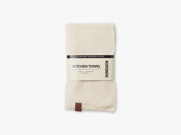 Knitted Kitchen Towel, Shell fra Humdakin