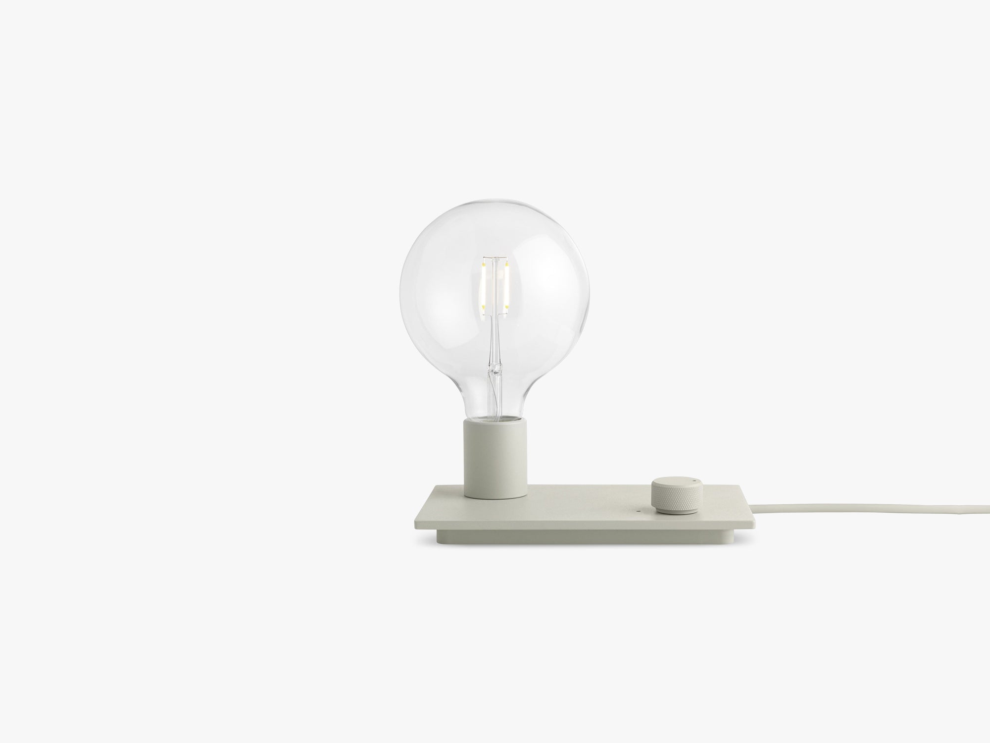 Control Table Lamp, Grey fra Muuto