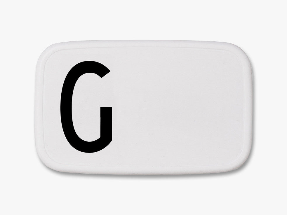 G - Personal Lunch Box fra Design Letters