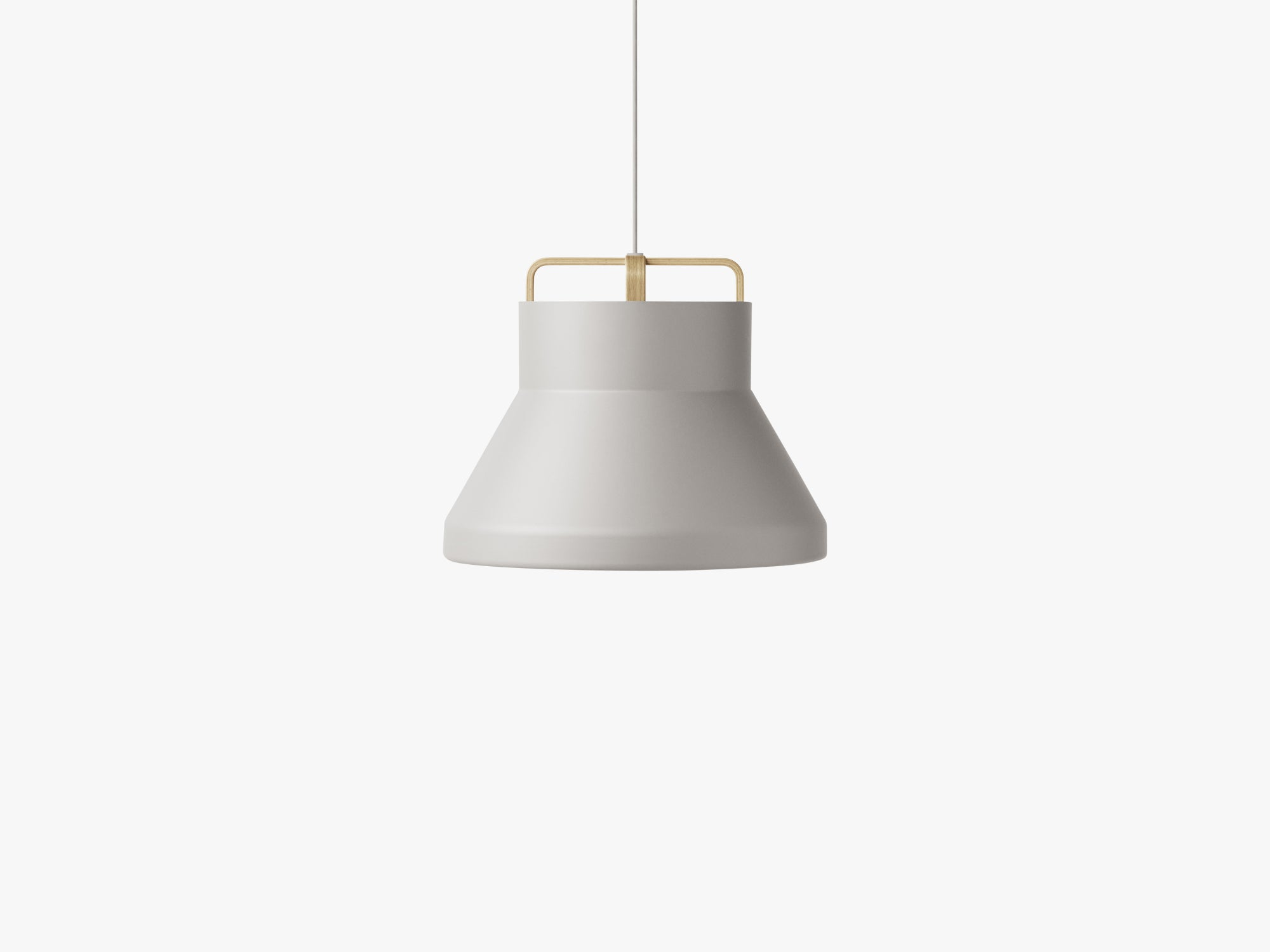 Voyage Pendant M2, Ø46 Light Grey/Oak fra MILLION