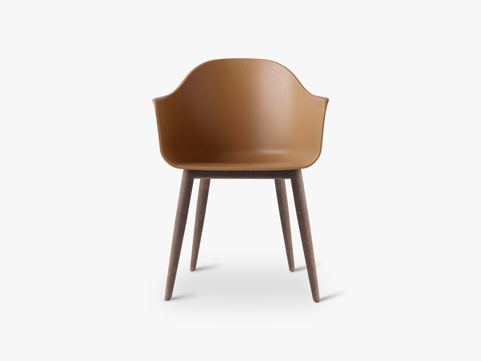 Harbour Chair, Khaki/Dark Oak Base fra Menu