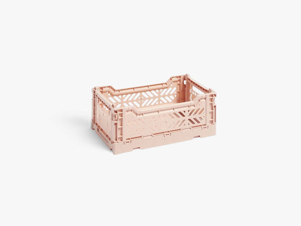 Colour Crate Small, Soft Pink fra HAY